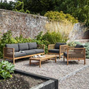 Cadgwith Sofa Set - Acacia