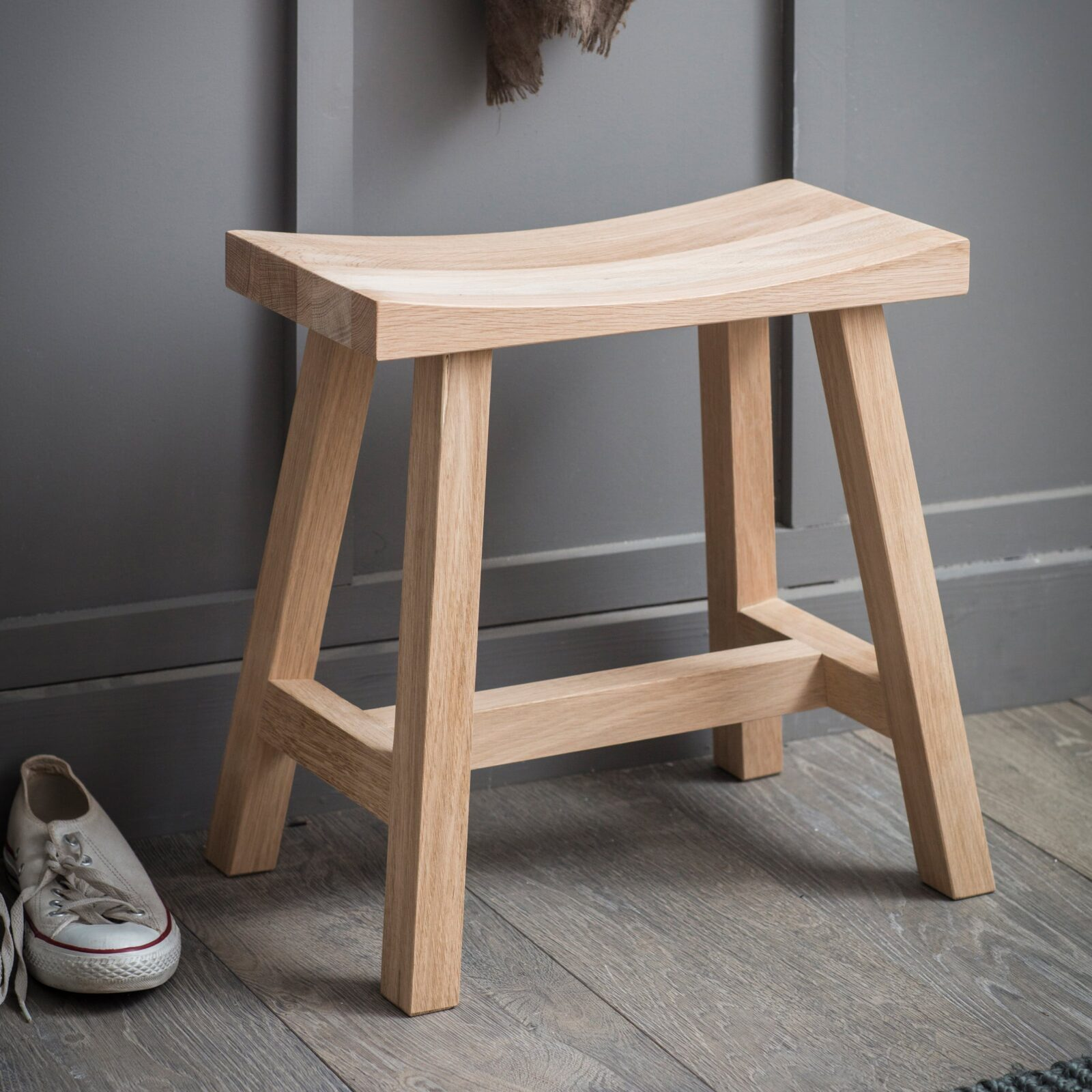 Clockhouse Stool - Raw Oak