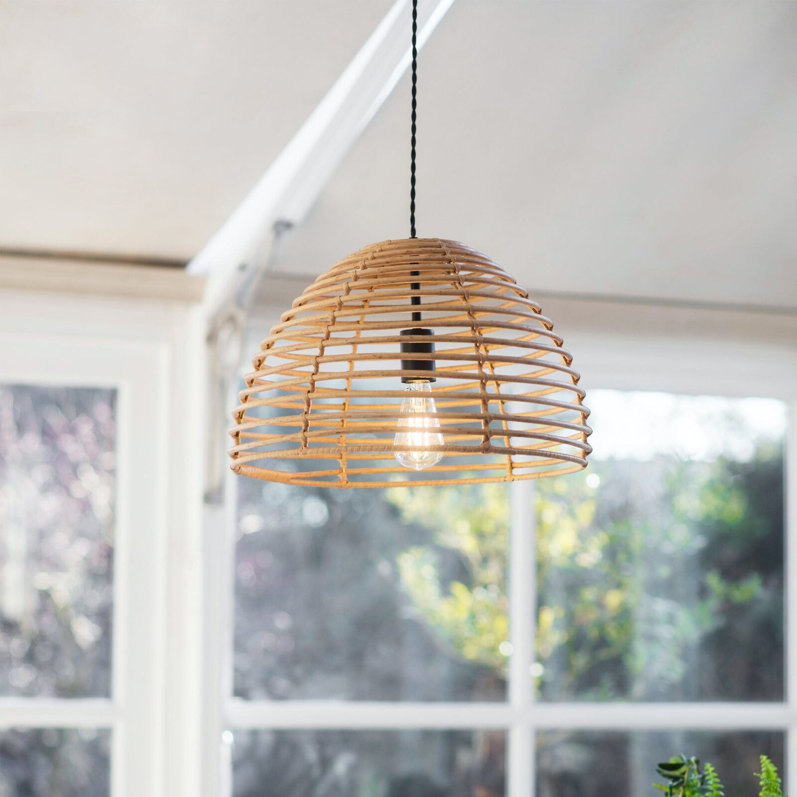 Hampstead Pendant Light - PE Bamboo