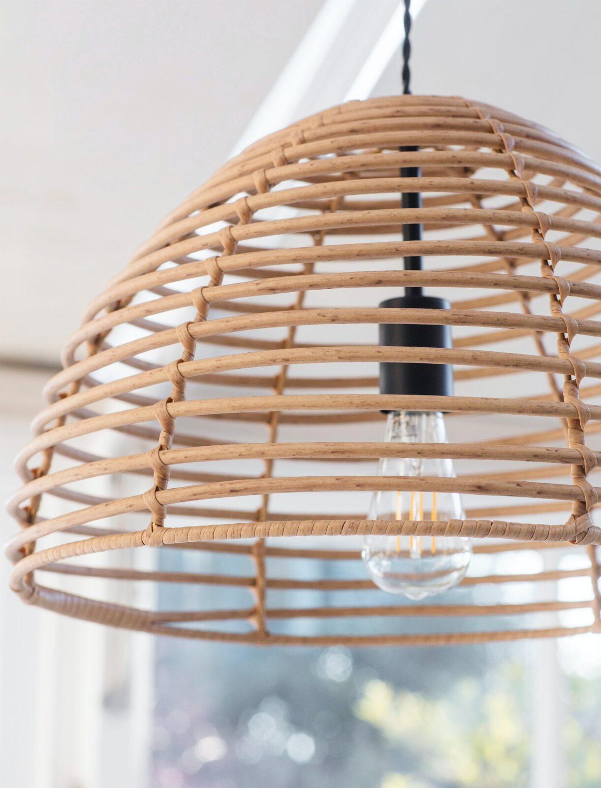 Hampstead Pendant Light - PE Bamboo
