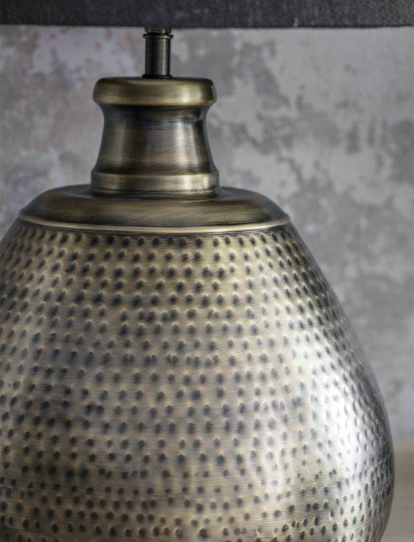 Kielder Table Lamp Brass Large