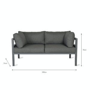 West strand sofa 2 seater