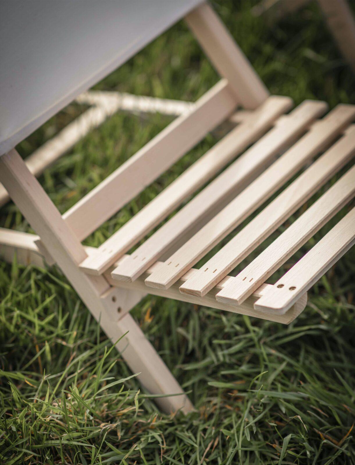 Wimborne Beach Chair - Beech