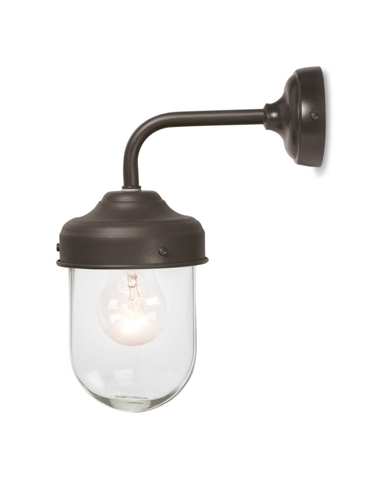 Barn Light in Coffee Bean - Steel