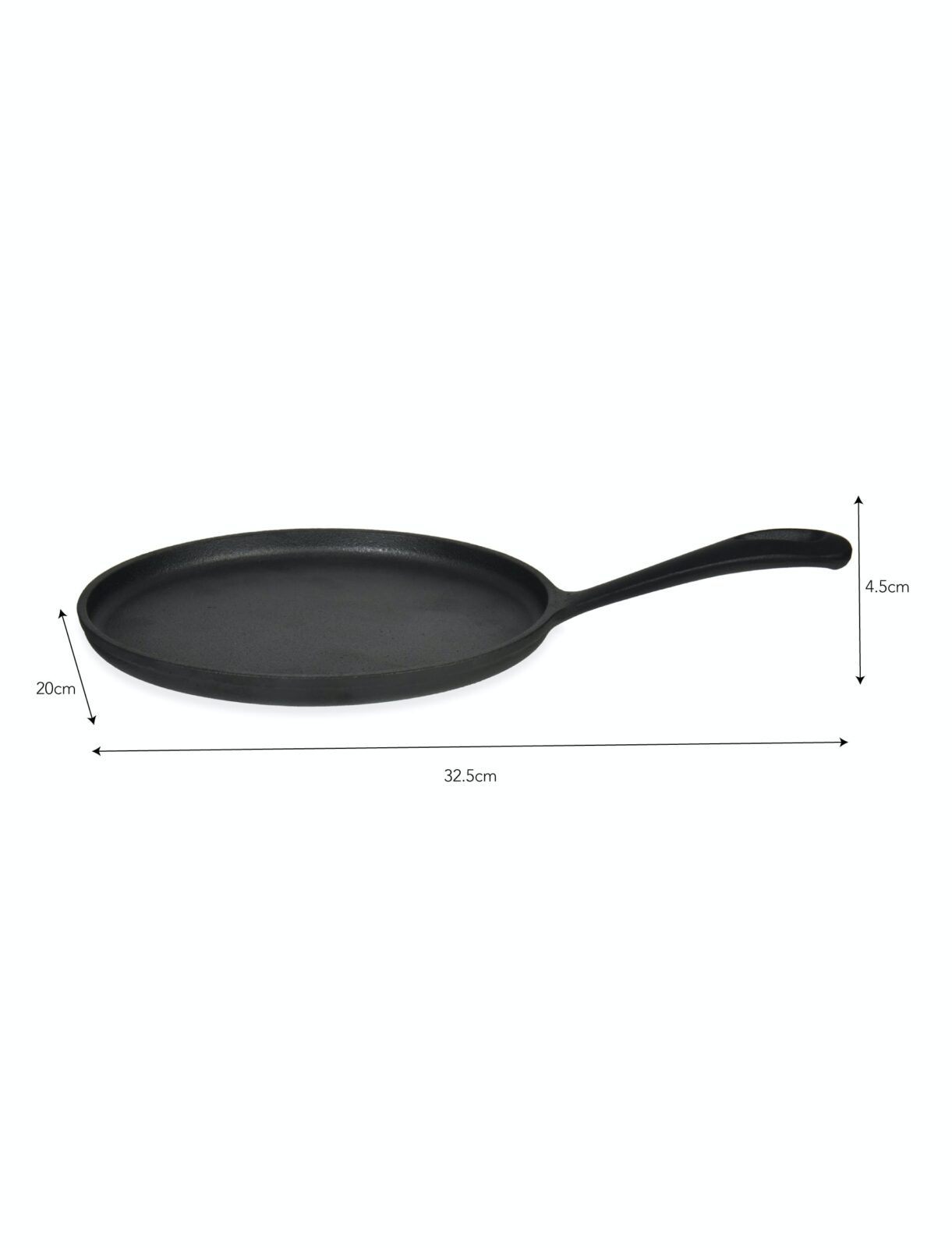Coalbrook Crepe Pan Cast Iron
