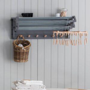 Extending Clothes Dryer Birch Charcoal