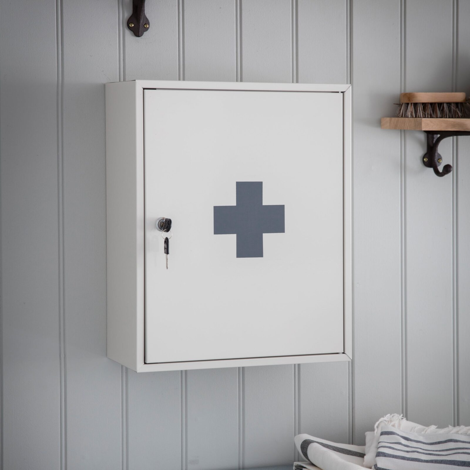 First Aid Wall Cabinet Powder Coated Steel