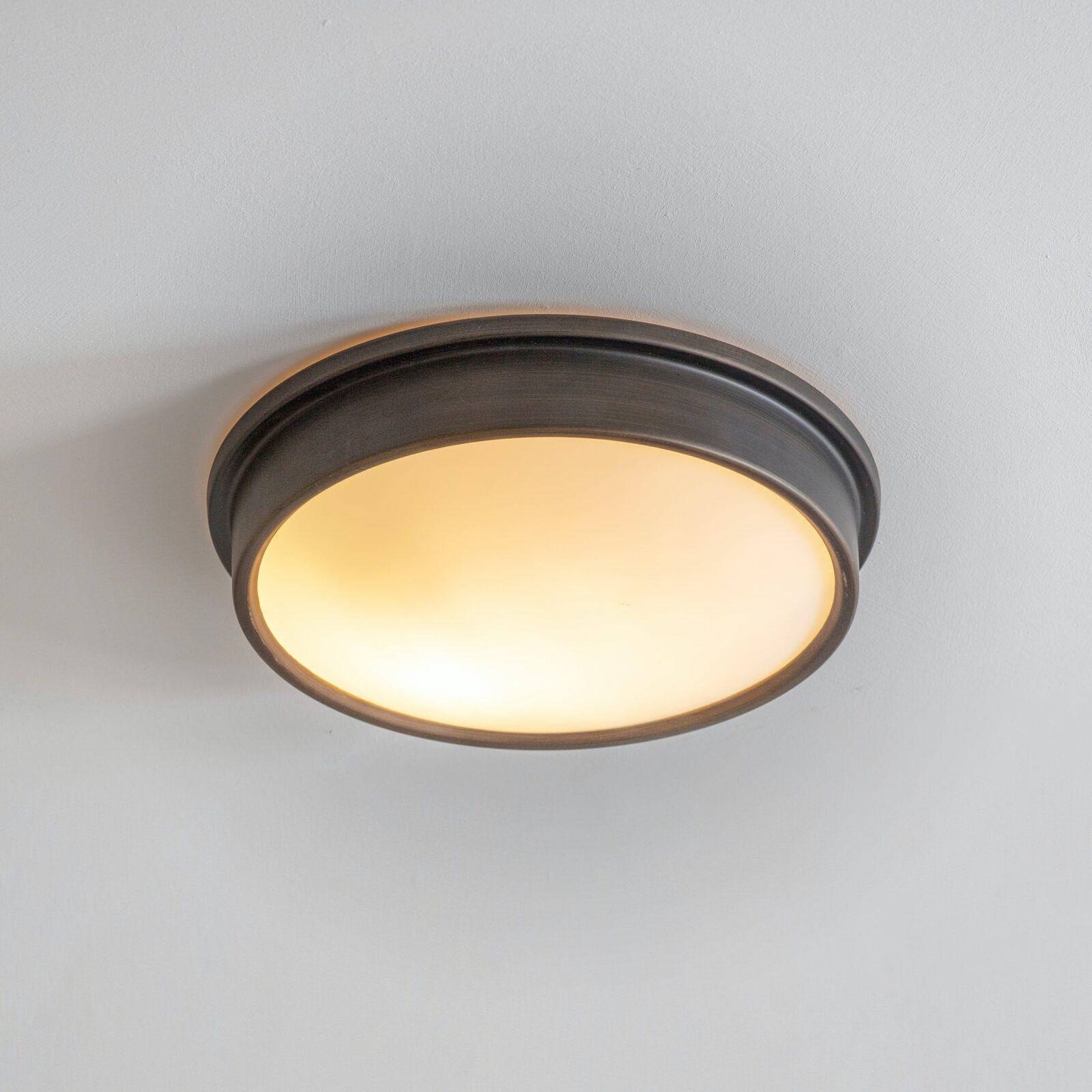 Ladbroke Bathroom Ceiling Light - Antique Bronze