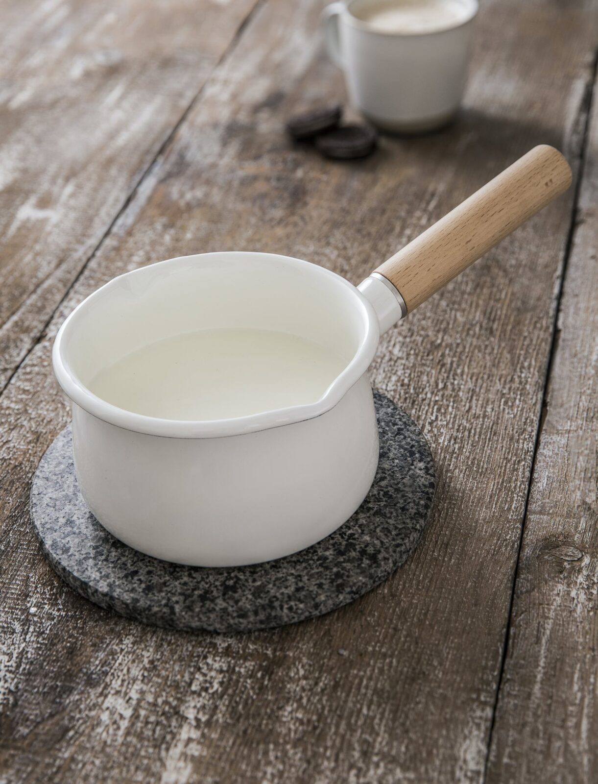 Milk Pan Enamel