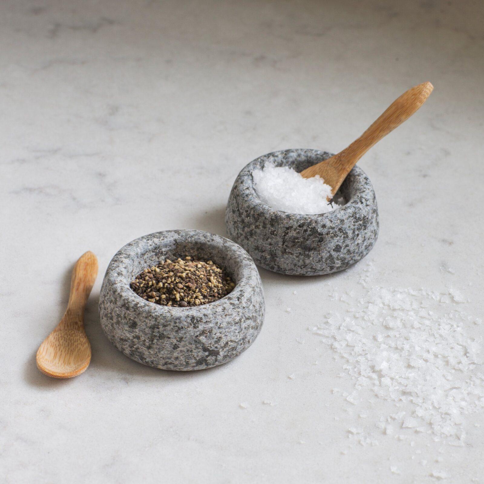 Salt & Pepper Pots Granite