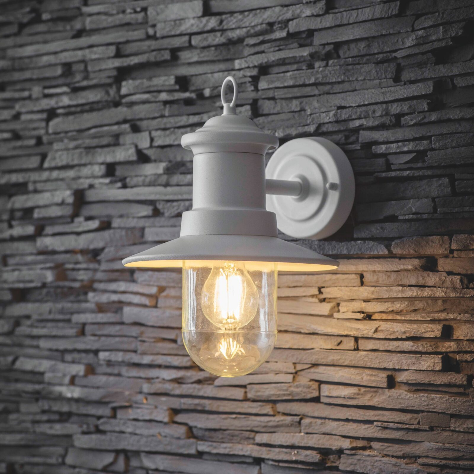 Ships Wall Light Powder Coated Steel