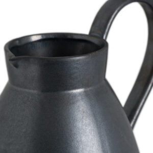 Grey Metallic Jug