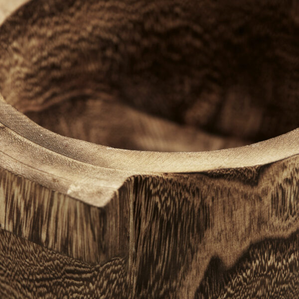 House Doctor Wooden Storage Bowl