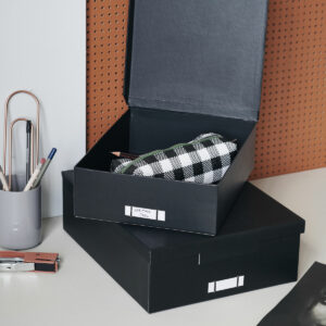 Monograph Storage boxes Black