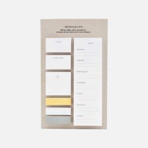 Monograph Stick notes
