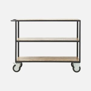 Iron and Wood Shelving unit