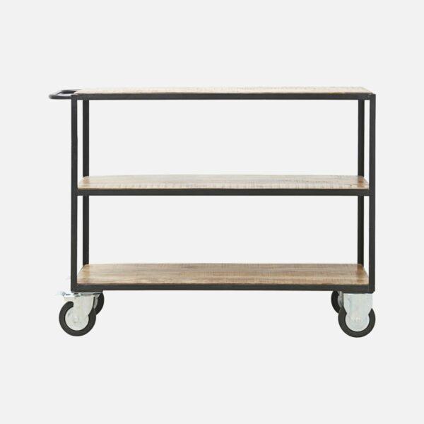 Iron and Wood Shelving unit