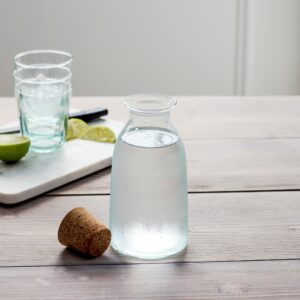 Broadwell Small Recycled Glass water bottle