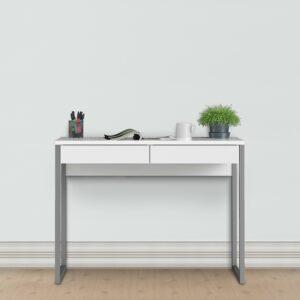 High Gloss White Desk