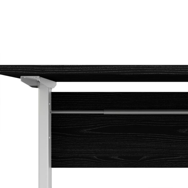 Prima Height Adjustable Desk Black