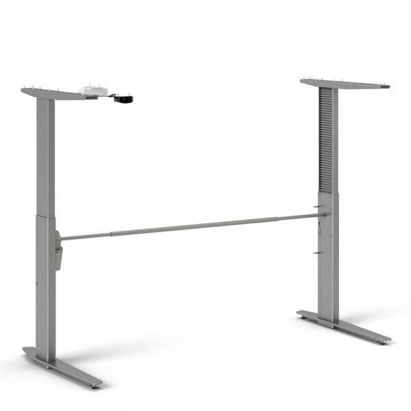 Prima Height Adjustable Electric Desk Oak