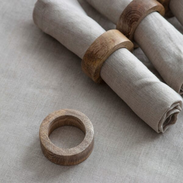 Set of 4 Midord Napkin rings