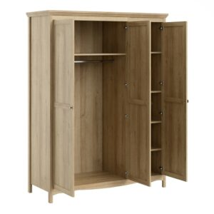 Silkeborg Three Door Wardrobe