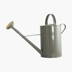 House Doctor Large Grey Galvanised Watering Can