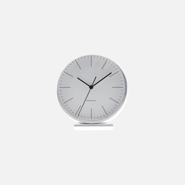 House Doctor Silver Alarm Clock