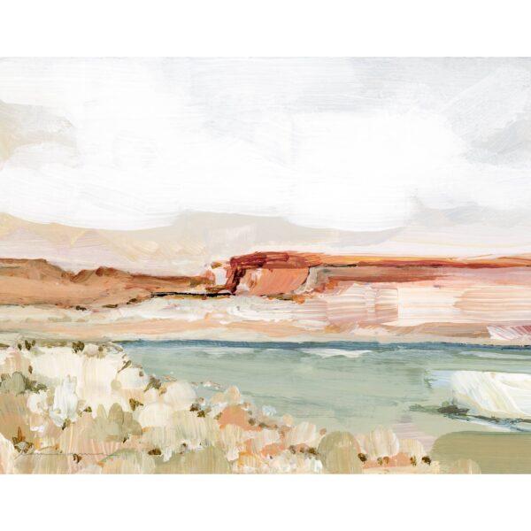 Laurie Anne Art Vermillion Cliffs Horizontal Canvas Print