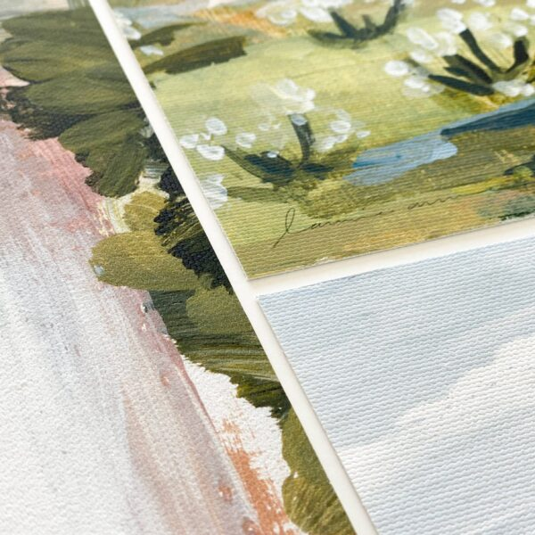 Laurie Anne Vermillion Cliffs Horizontal Canvas Print