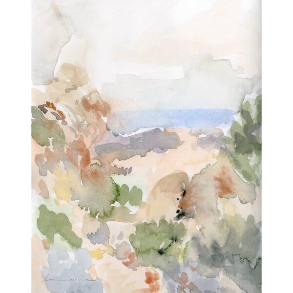 Laurie Anne Pastel Wash Art Print
